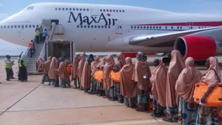 Max Airline Conveying pigrims